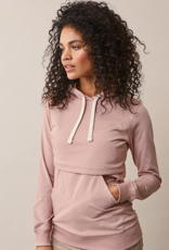 Boob Design B-Warmer Nursing Hoodie in Mauve