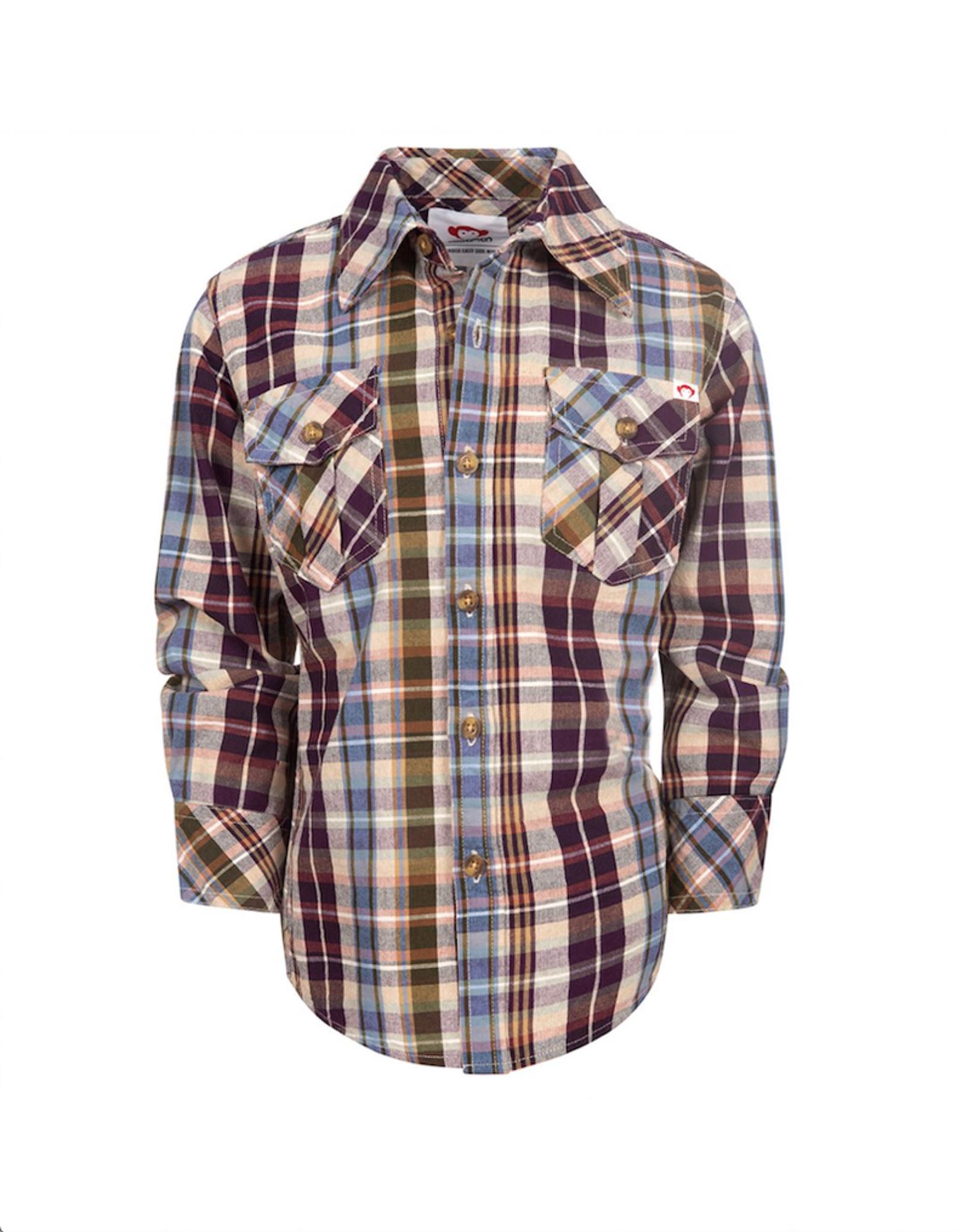 Appaman Mecca Plaid Flannel Shirt