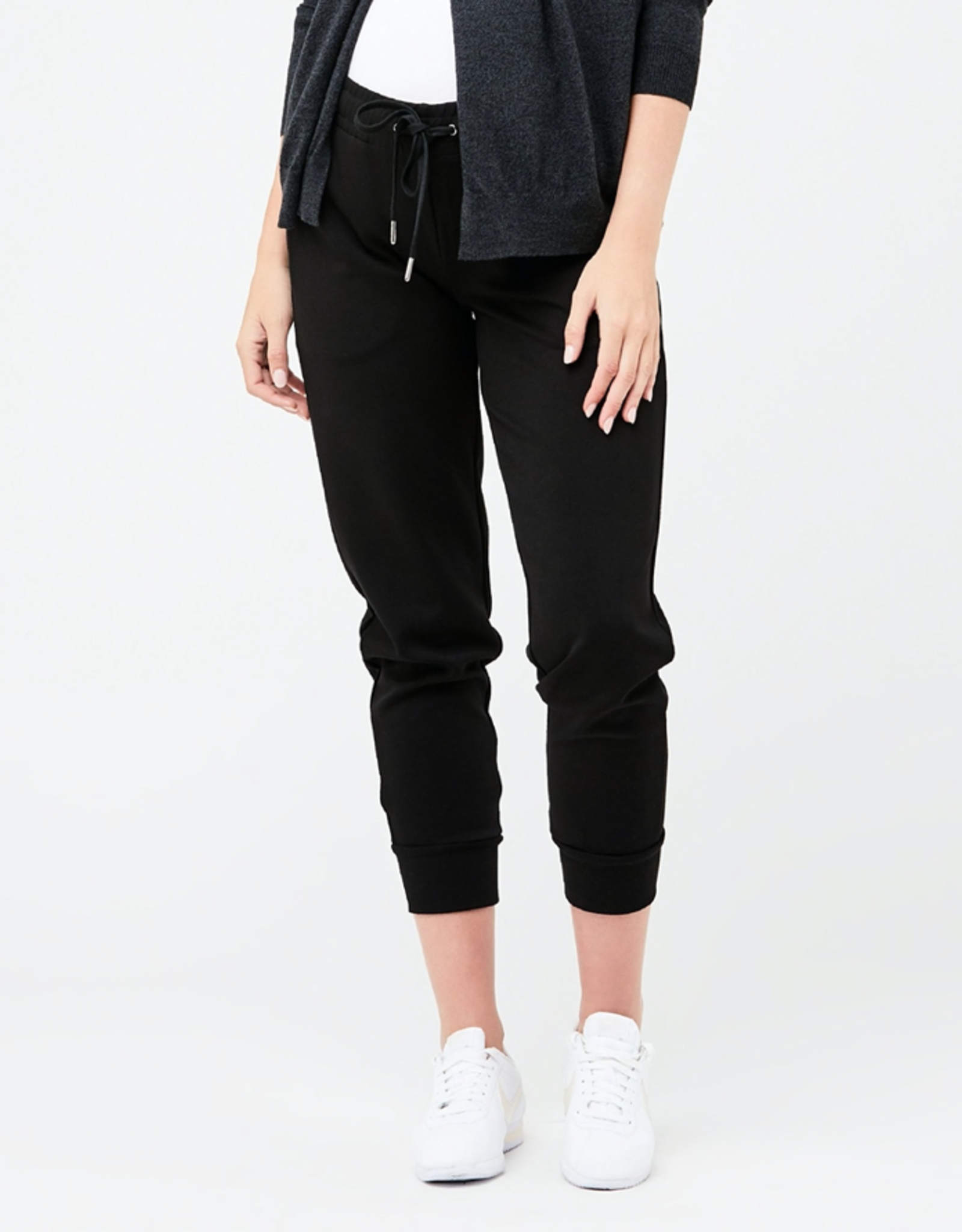 Ripe Maternity Super Soft Scuba Jogger, Black