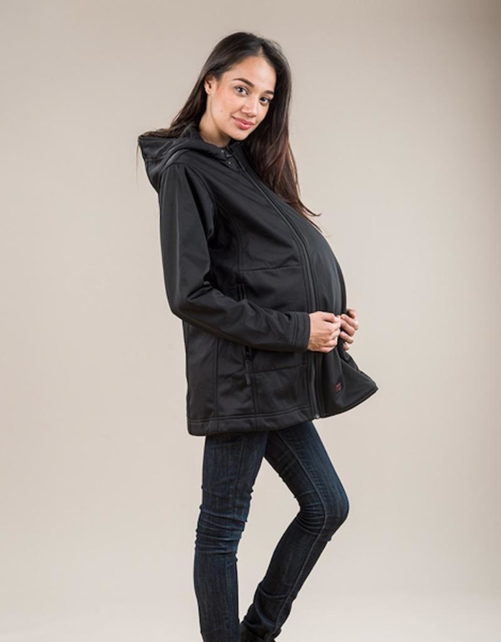 M Coat M Shell Maternity & Carrier Cover Soft Shell Coat