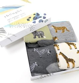 Thought Socks Zoological Bamboo Kids Safari Animal Socks