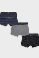 Mayoral 3 piece Boxers Set in Coal