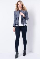 Seraphine Katie: Premium Indigo Over Bump Maternity Jeans