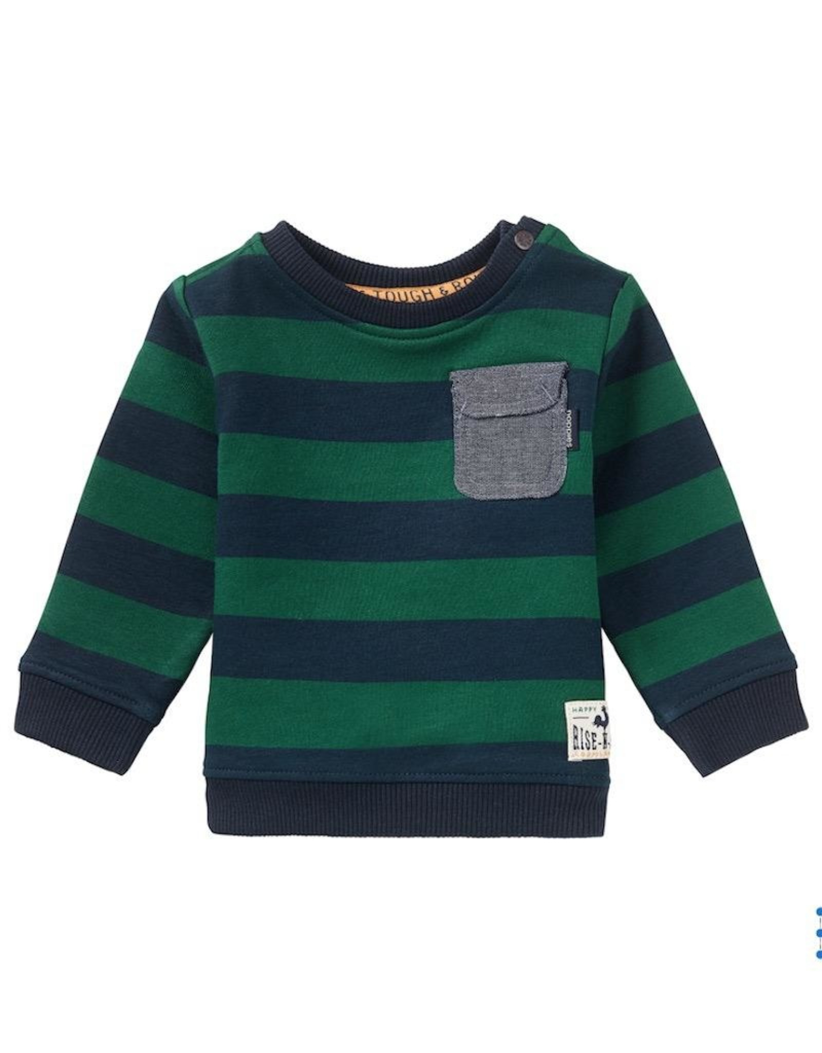 Noppies Kids Oviston Baby Boy's Long Sleeve Sweater in Dark Sapphire