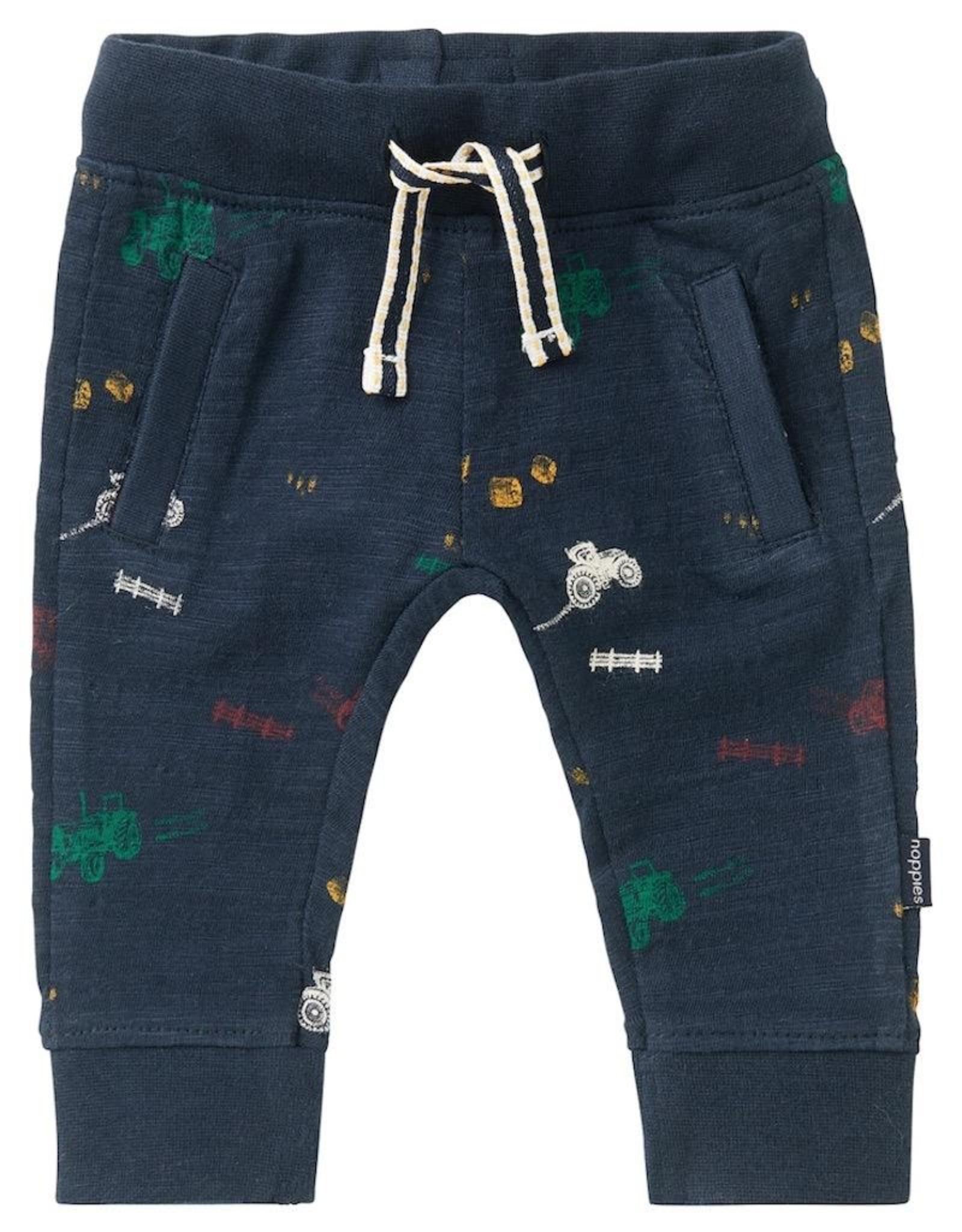 Noppies Kids Jansenville Baby Boy's Sweatpants in Dark Sapphire