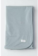 Loulou Lollipop Stretch Knit Blanket in TENCEL™ - Slate - OS