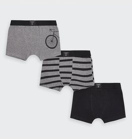 Mayoral Bicycle 3 piece Boxers Set in Coal