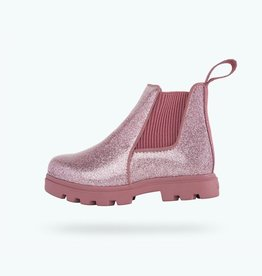 Native Shoes Kensington Treklite Glitter Child in Pink Glitter/ Temple Pink