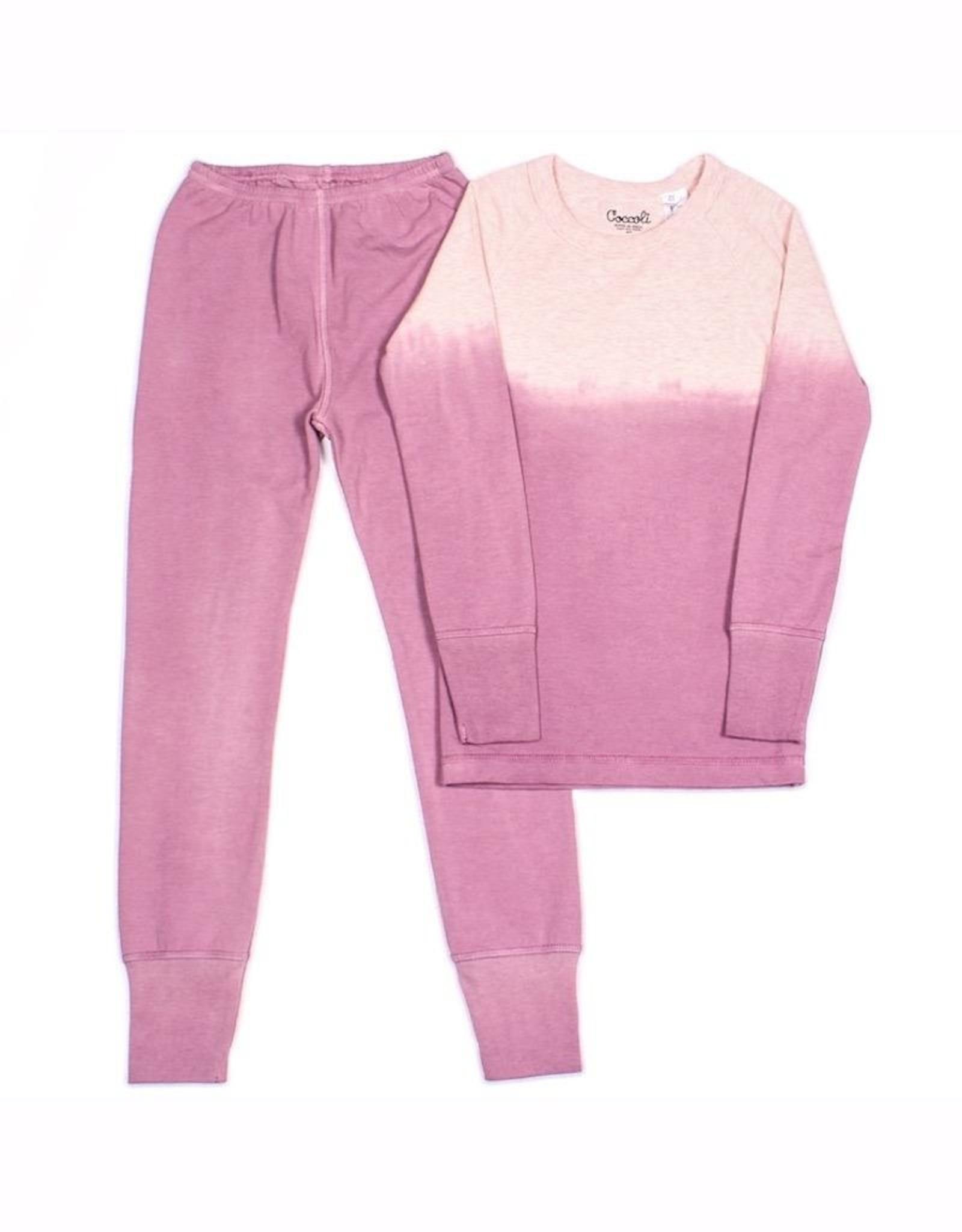 Pink Ombre Pajama Set