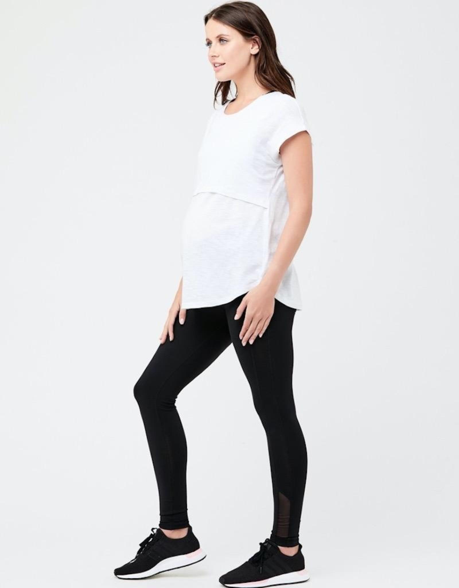 Ripe Maternity Active Over Tummy Legging in Black