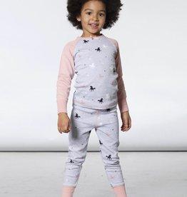 Deux Par Deux Unicorns Pajama Set
