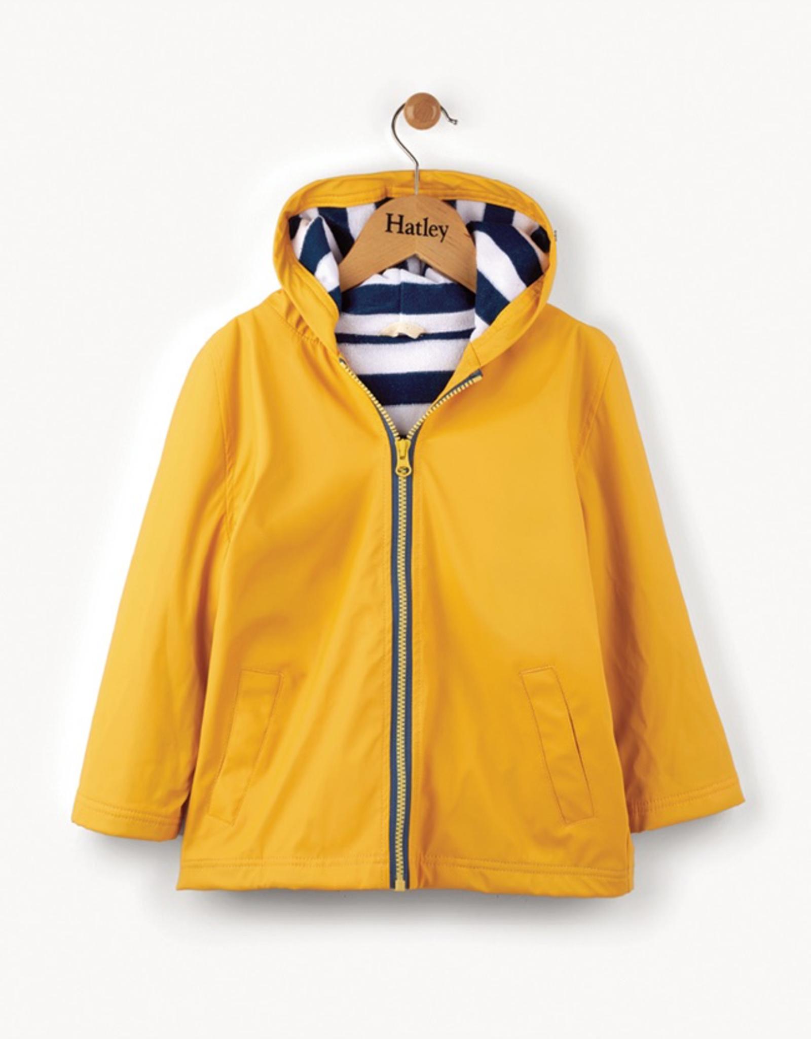 Hatley Yellow & Navy Splash Jacket for Boy