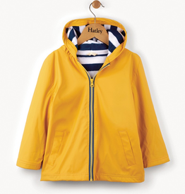 Hatley Yellow & Navy Splash Jacket for Boy