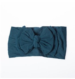 Lox Lion Turquoise Double Buckle Nylon Headband