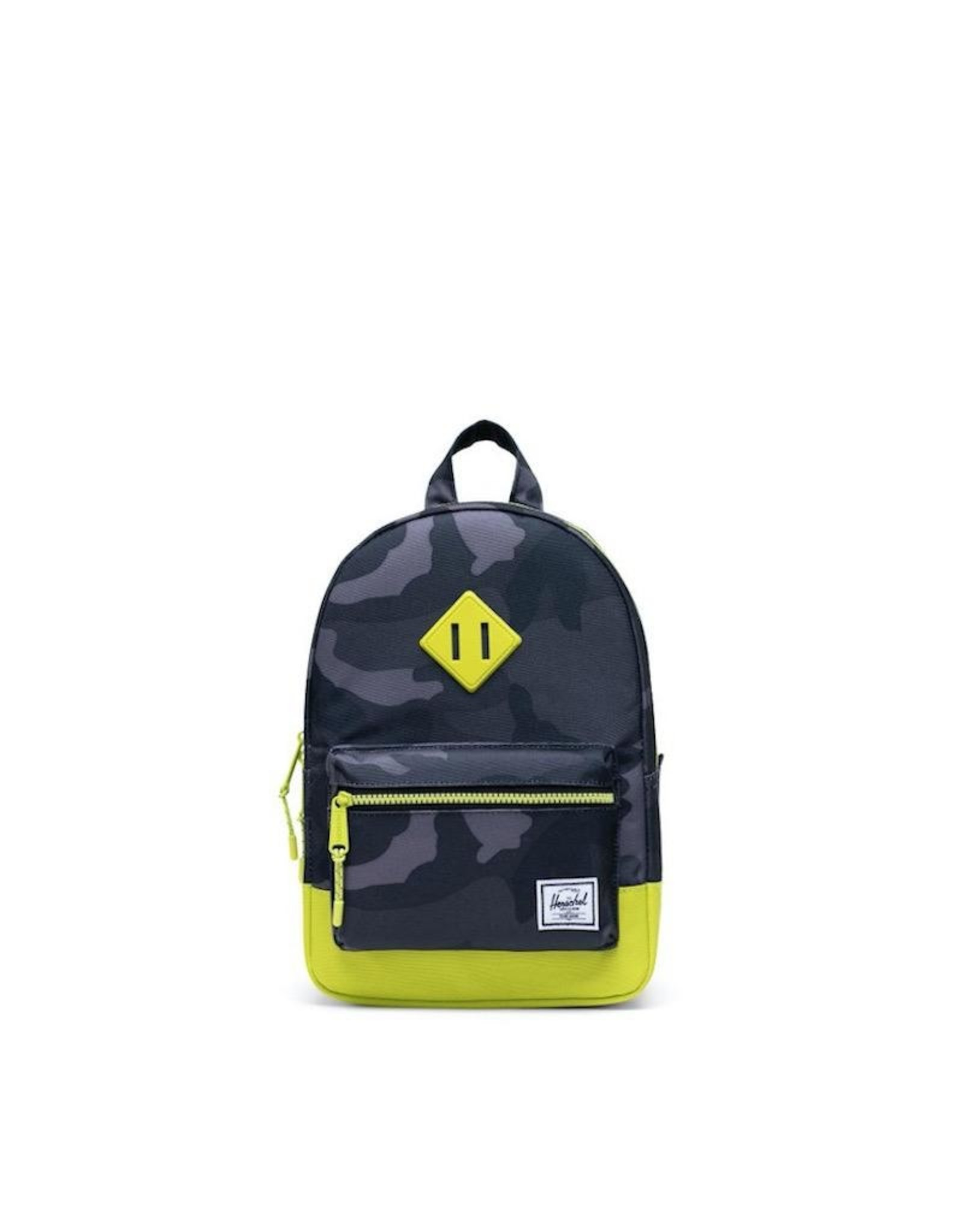 Herschel Supply Co. Heritage Backpack | Kids, Night Camo/Lime Punch