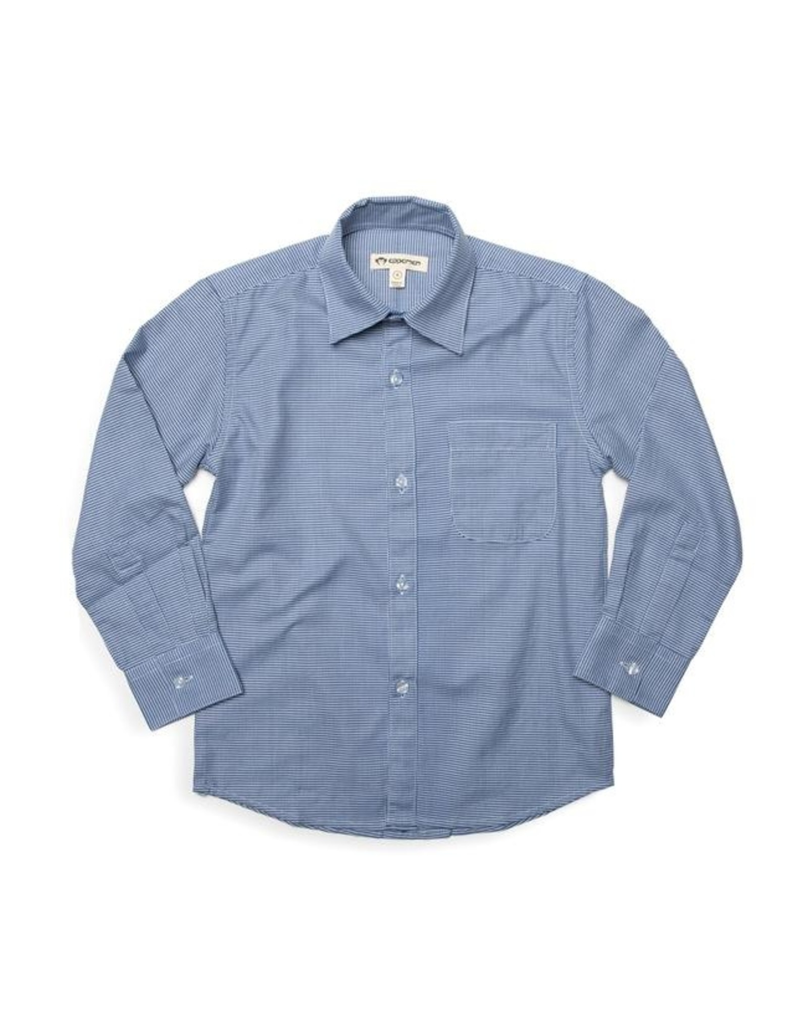 Appaman The Standard Shirt in Navy Houndstooth
