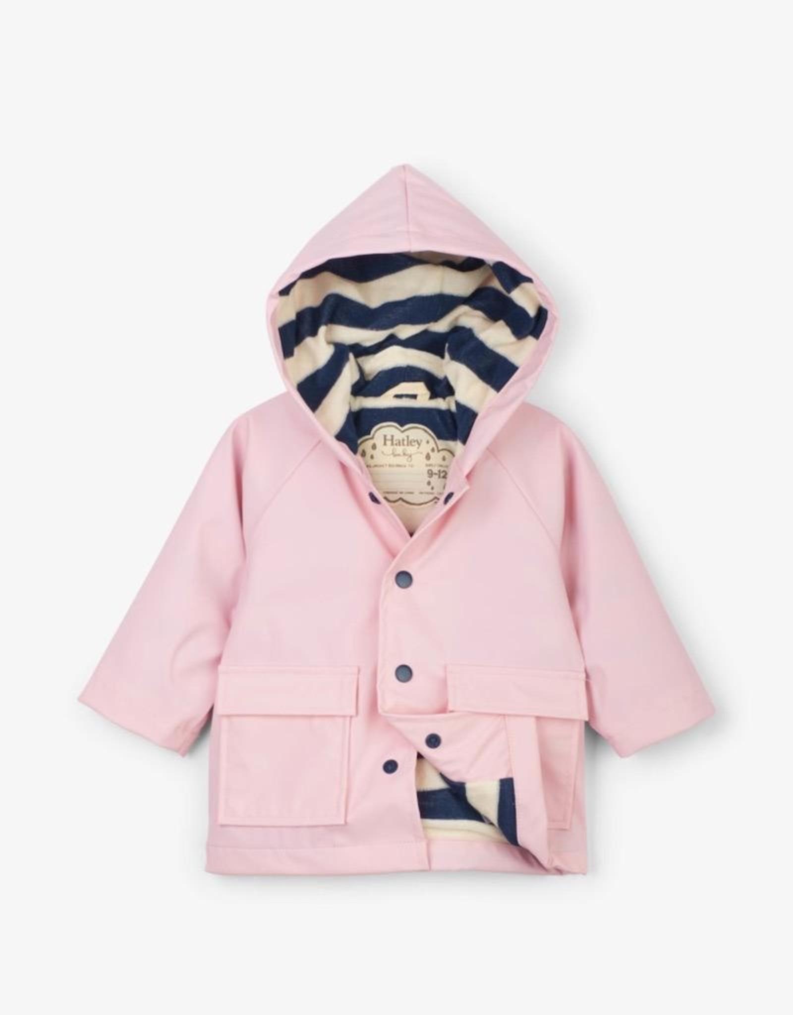 Hatley Pink Baby Raincoat
