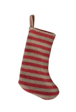 Maileg Christmas Stocking - Red/Sand