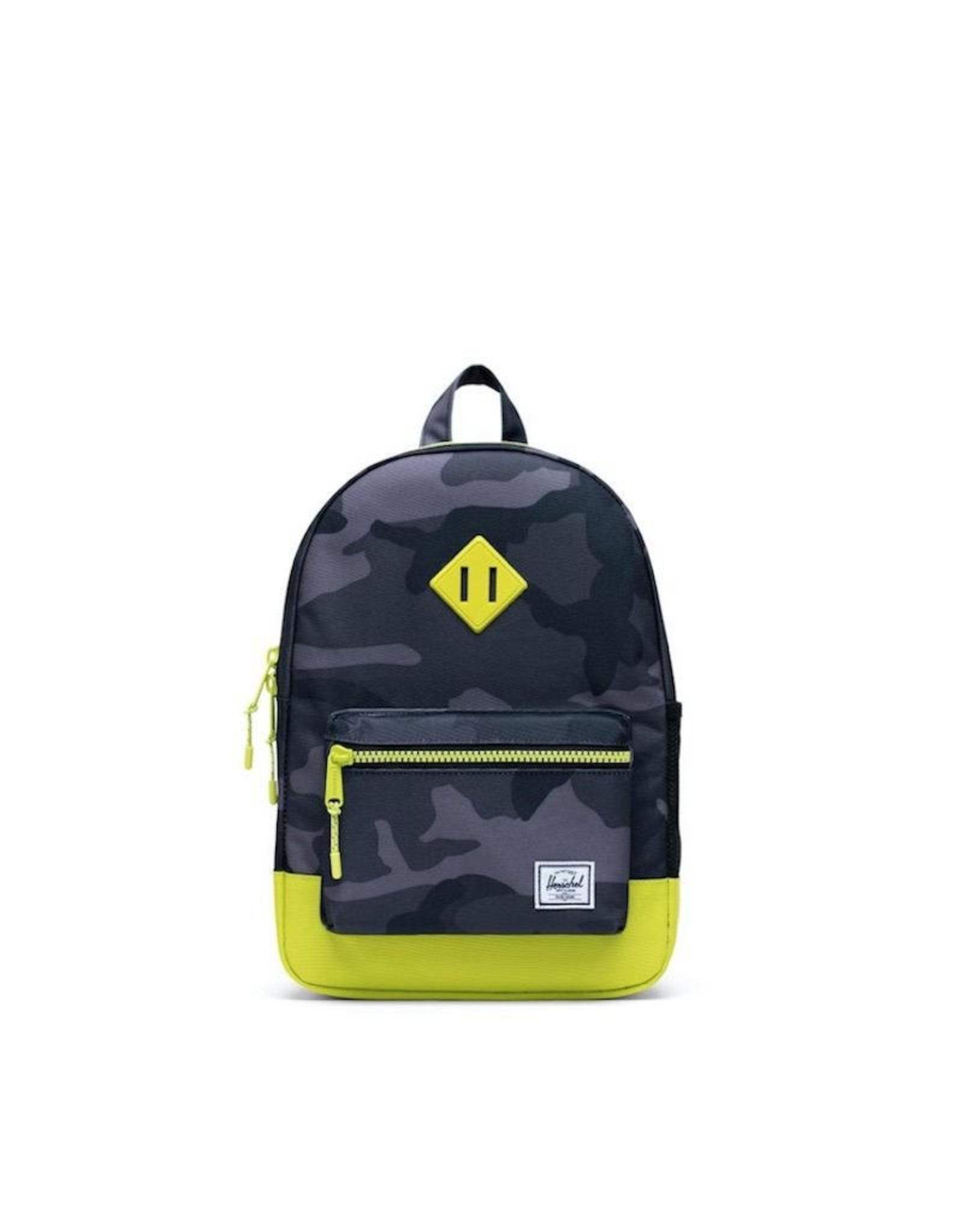 Herschel Supply Co. Herschel Supply, Heritage Backpack   Youth, Night Camo/Lime Punch