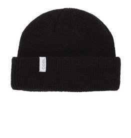 Coal The Frena Kids Thick Knit Beanie in Black