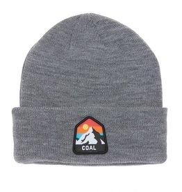 Coal The Peak Kids Cuffed Mountain Beanie in Grey