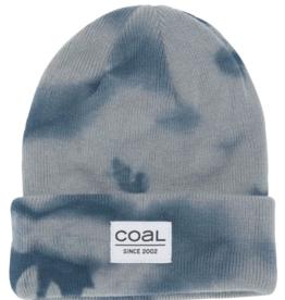 Coal The Standard Kids Beanie in Grey Tie Dye