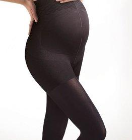 Seraphine 100 Denier Maternity Tights in Black