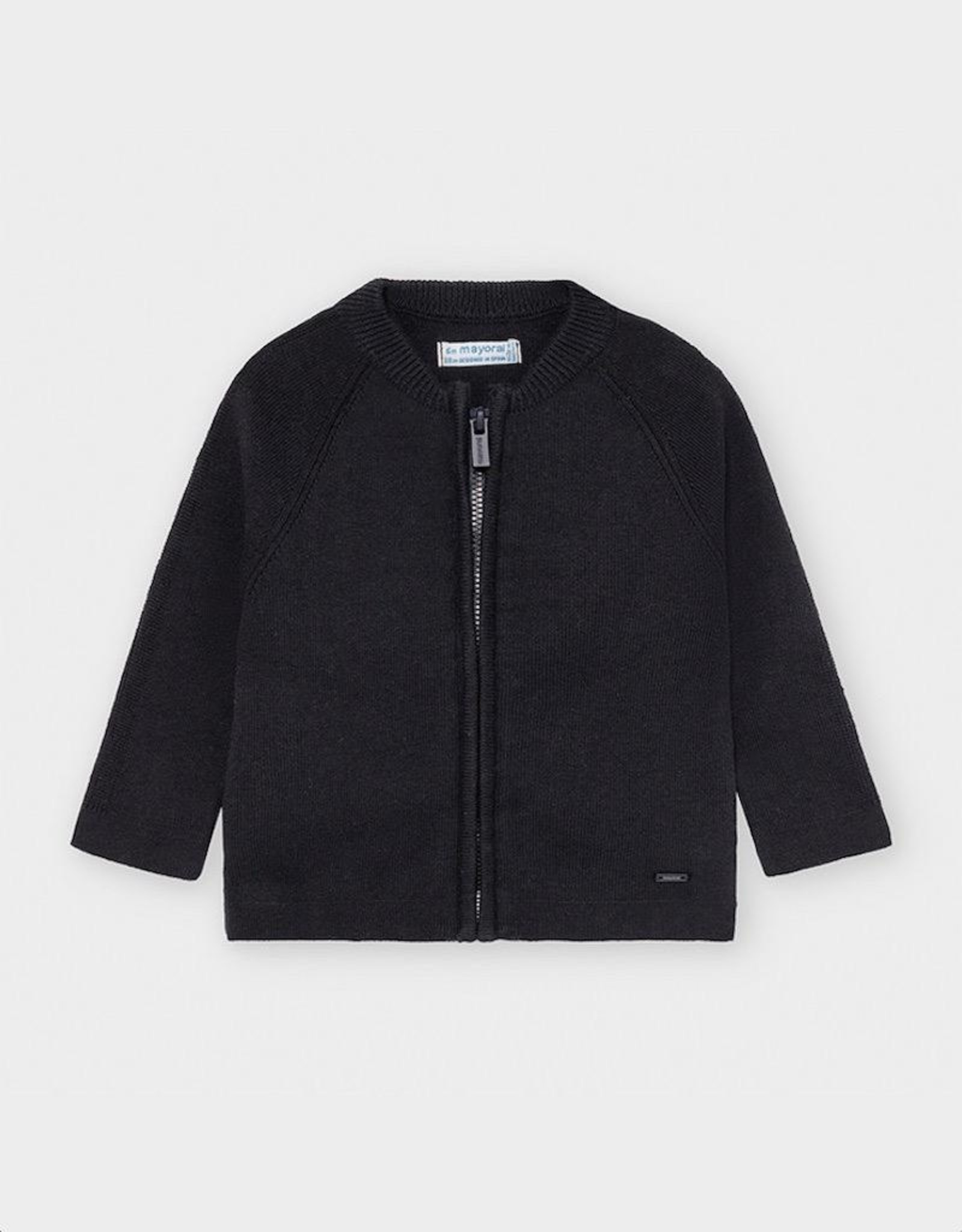 Mayoral Woven Knit Jacket in Blue
