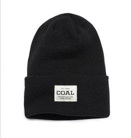 Coal The Uniform Knit Cuff Beanie in Black