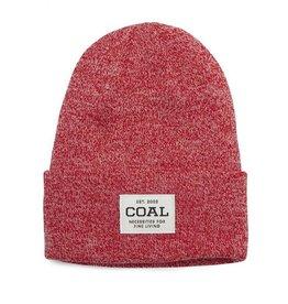 Coal The Uniform Knit Cuff Beanie in Red Marl