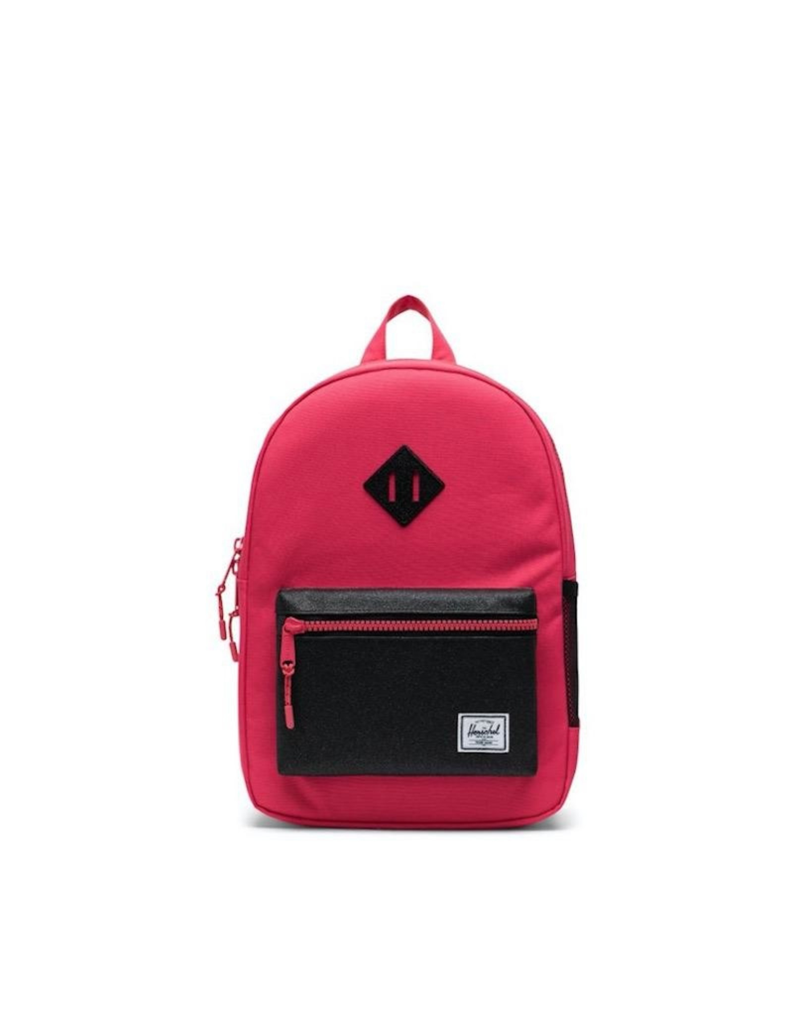 Herschel Supply Co. Heritage Backpack | Youth, Rouge Red/Black Sparkle, 16L
