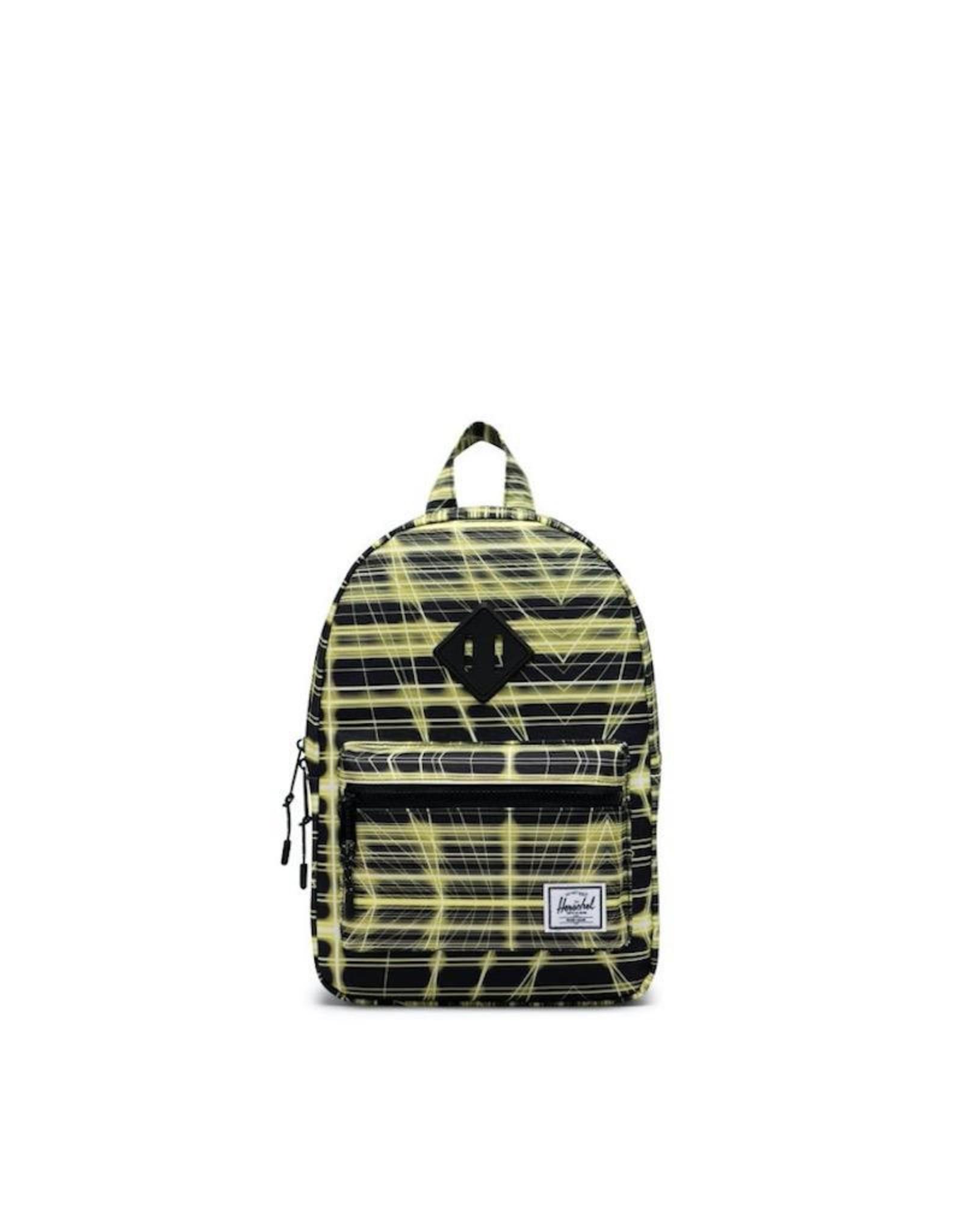 Herschel Supply Co. Heritage Backpack | Kids, Neon Grid Highlight, 9L