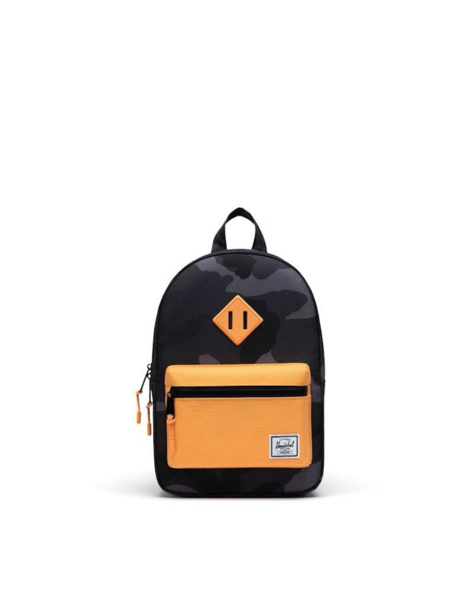 Herschel Supply Co. Heritage Backpack | Kids, Night Camo/Blazing Orange, 9L