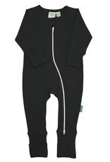Parade Organics Long Sleeve Essential Basic '2-Way' Zipper Romper