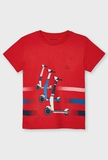 Mayoral Cyber Red Scooters T-shirt