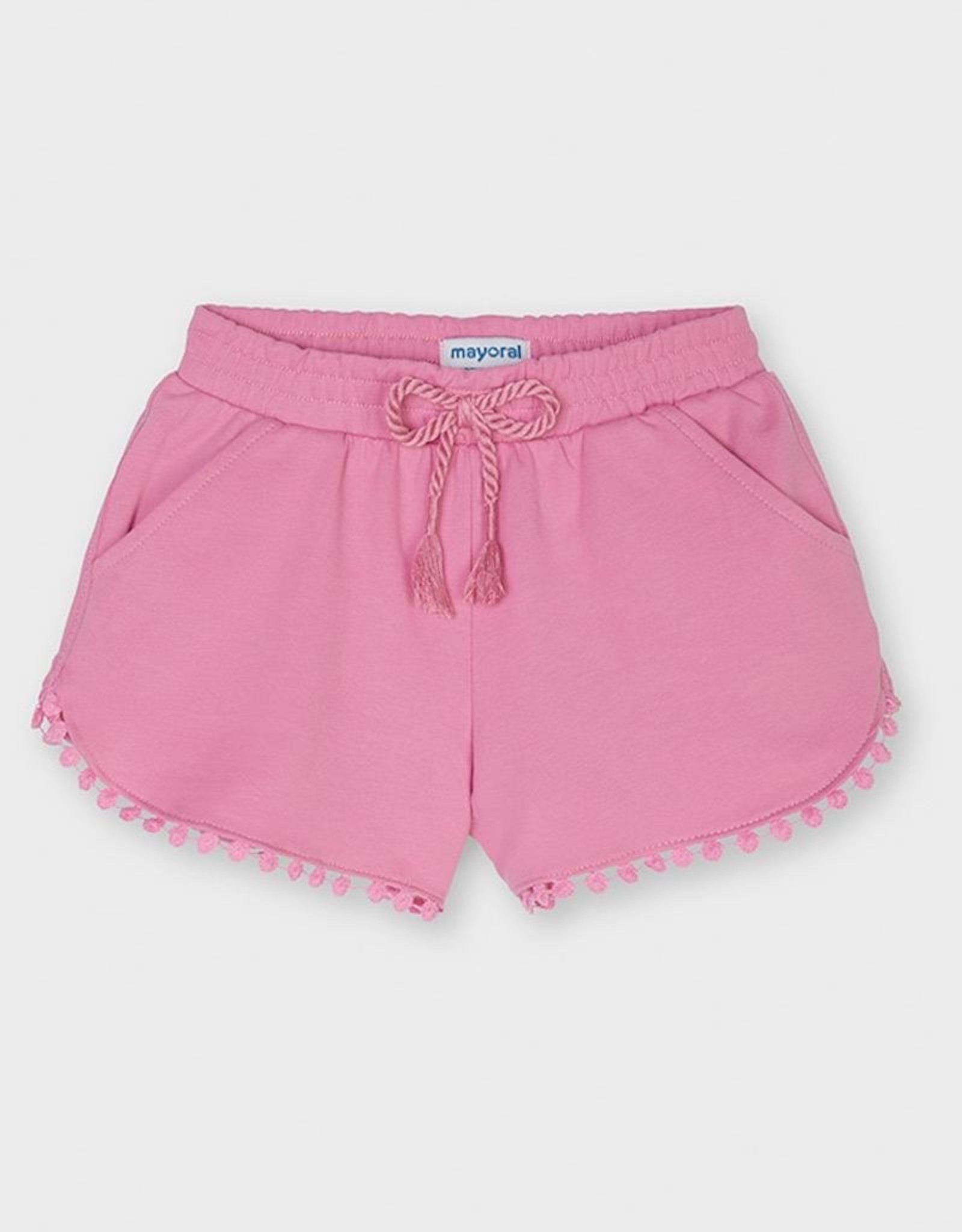 Mayoral Camellia Chenille Knit Shorts