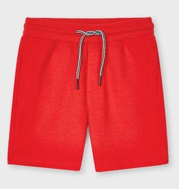 Mayoral Cyber Red Sporty Shorts