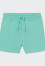 Mayoral Aqua Basic Plush Baby Shorts