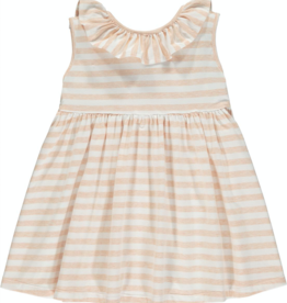 Vignette Bella Coral Stripe Dress