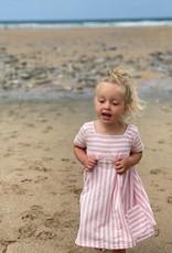 Vignette Rylie Pink Stripe Dress