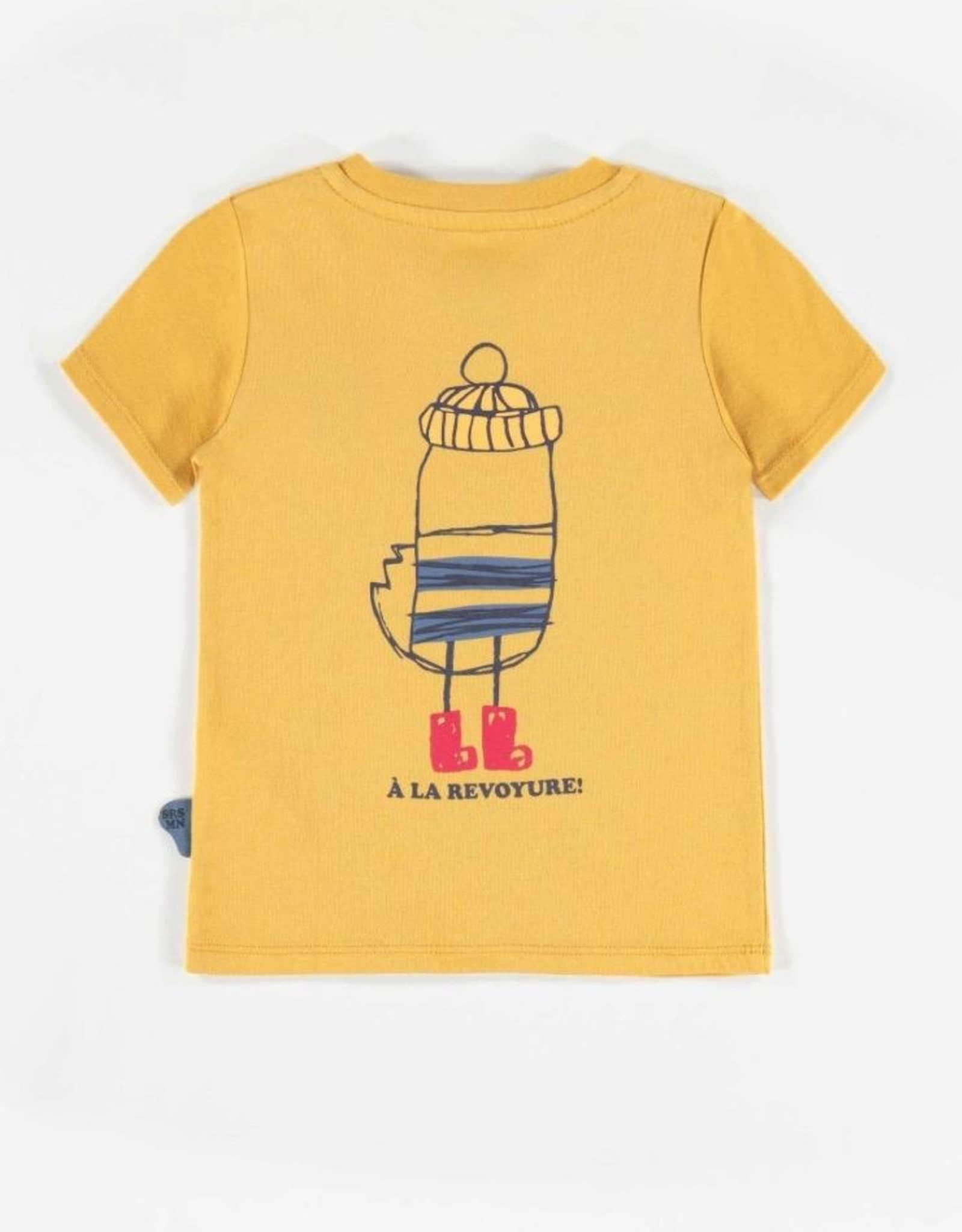 Souris Mini Little Bird Short-sleeve Yellow T-shirt