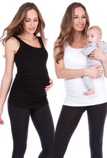 Seraphine Aniza Maternity & Nursing Tank Tops - Twin Pack