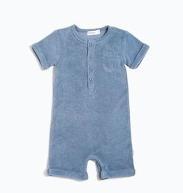 Candy Sky Terry Cloth Romper