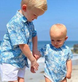 Me & Henry Helford Chambre Surfer Short Sleeved Onsie