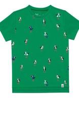 Deux Par Deux Short Sleeve T-Shirt with Pelicans