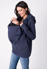 Seraphine Connor: 3-In-1 Active Hoodie in Navy