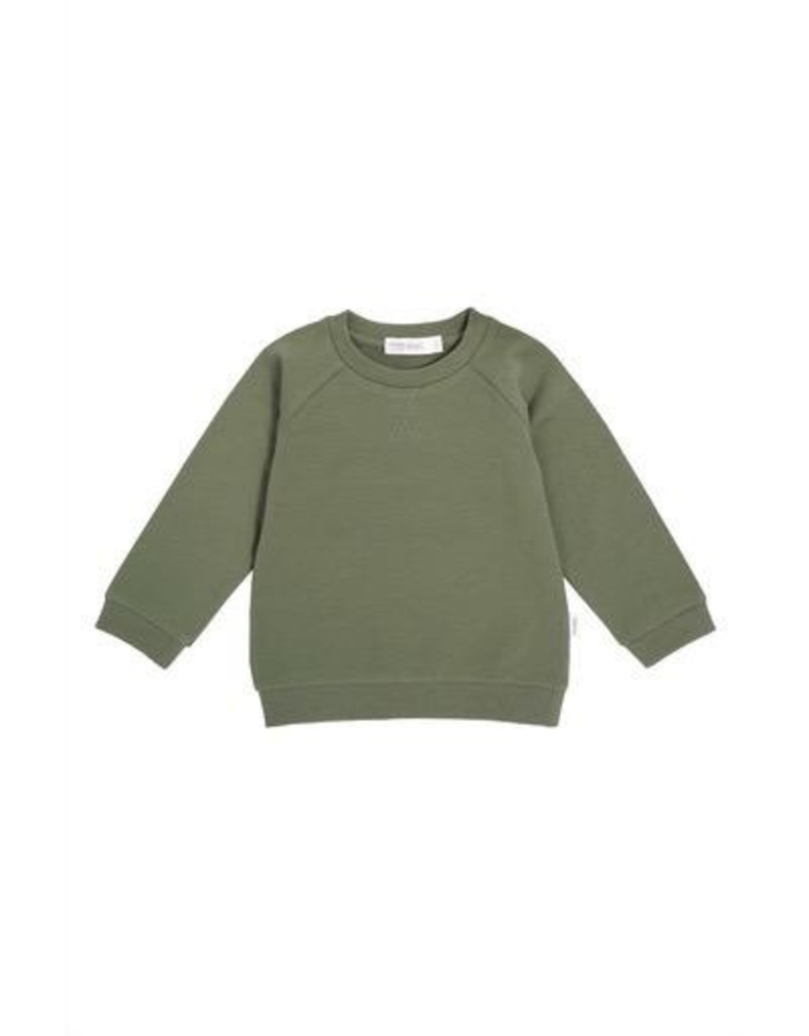 Khaki Baby Sweatshirt Knit
