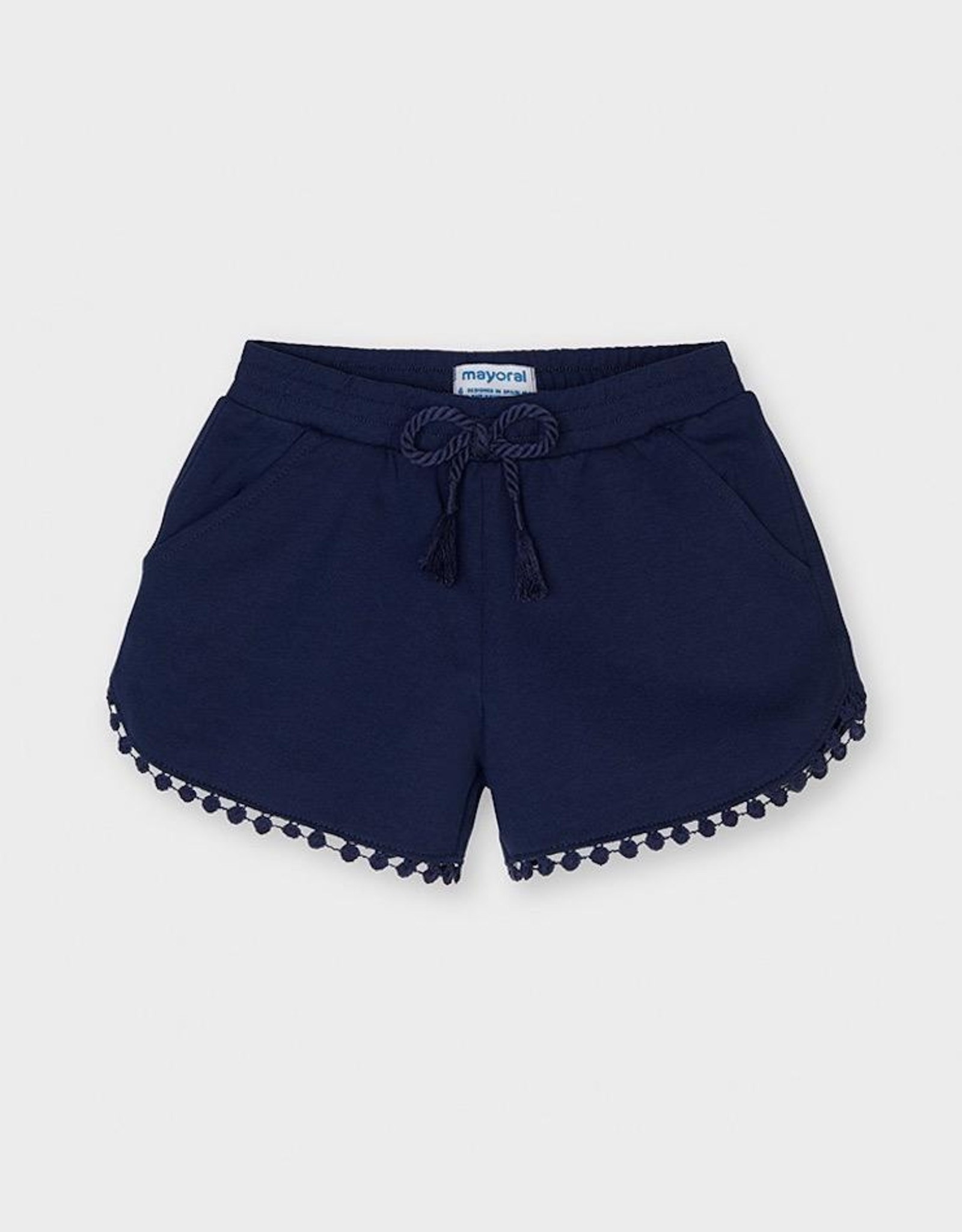 Mayoral Ink Chenille Knit Shorts