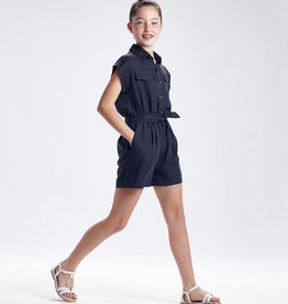 Mayoral Ecofriends loose Romper with Belt