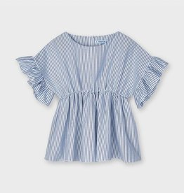 Mayoral Ruffled Seeves Blouse
